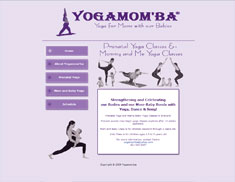 YogaMom'ba Yoga for Moms with our Babies